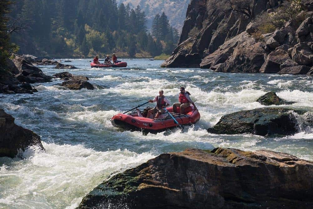 White Water Rafting in new zealand