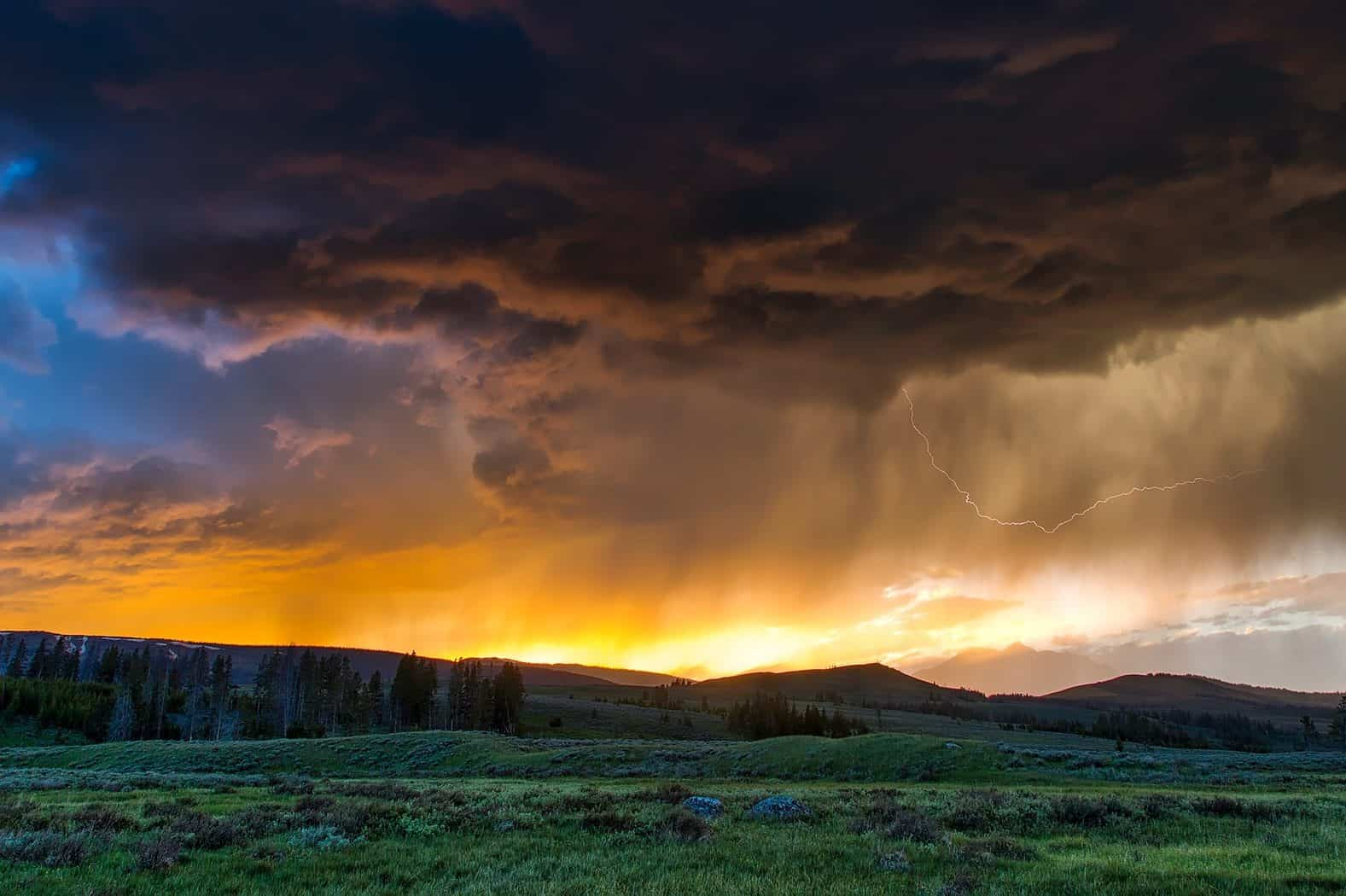 Weather in Yellowstone National Park